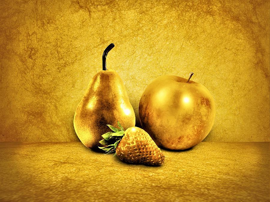 3 gyldne frugter